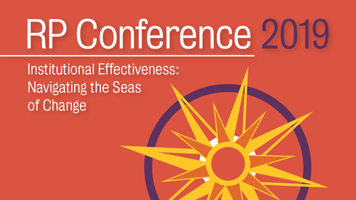 RP Conference 2019 - Institutional Effectiveness: Navigating the Seas of Change